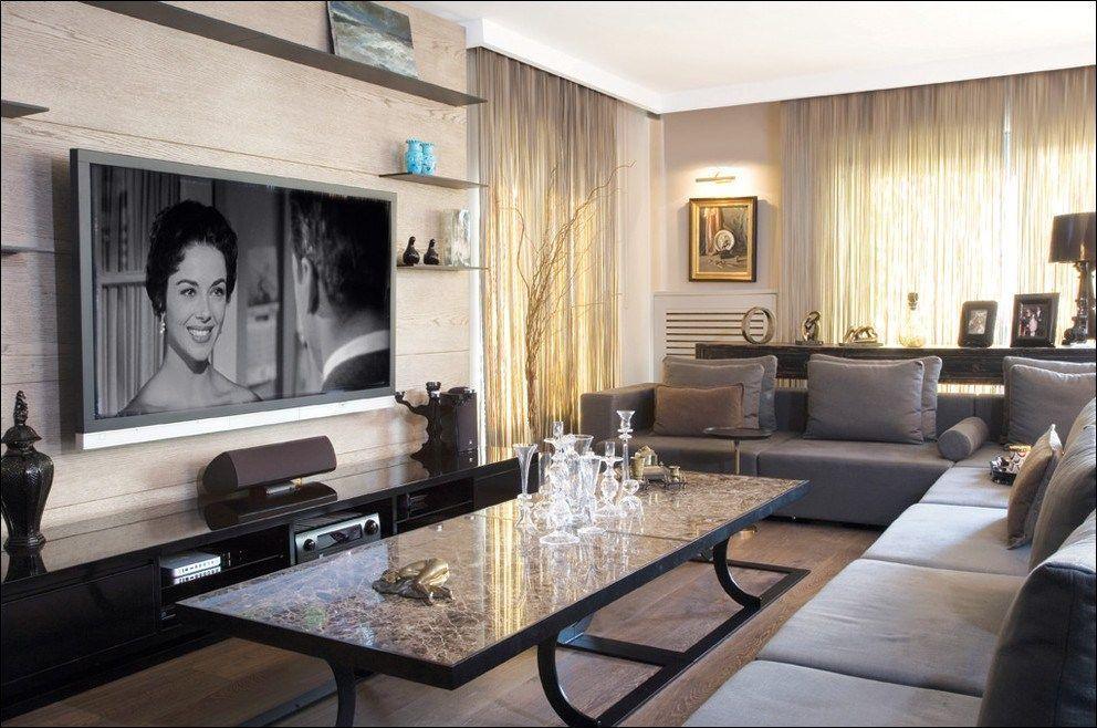 Living Room Luxury Tv Wall 56 Modern Living Room Furniture Ideas Livingroom Luxurytvwall Living Room Tv Modern Furniture Living Room Luxury Living Room #television #in #living #room #designs