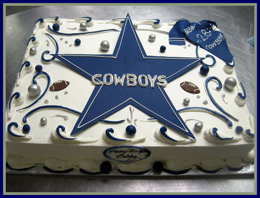 Dallas cowboys birthday cake ideas and designs - Cowboy Sheet Cakes Google Search