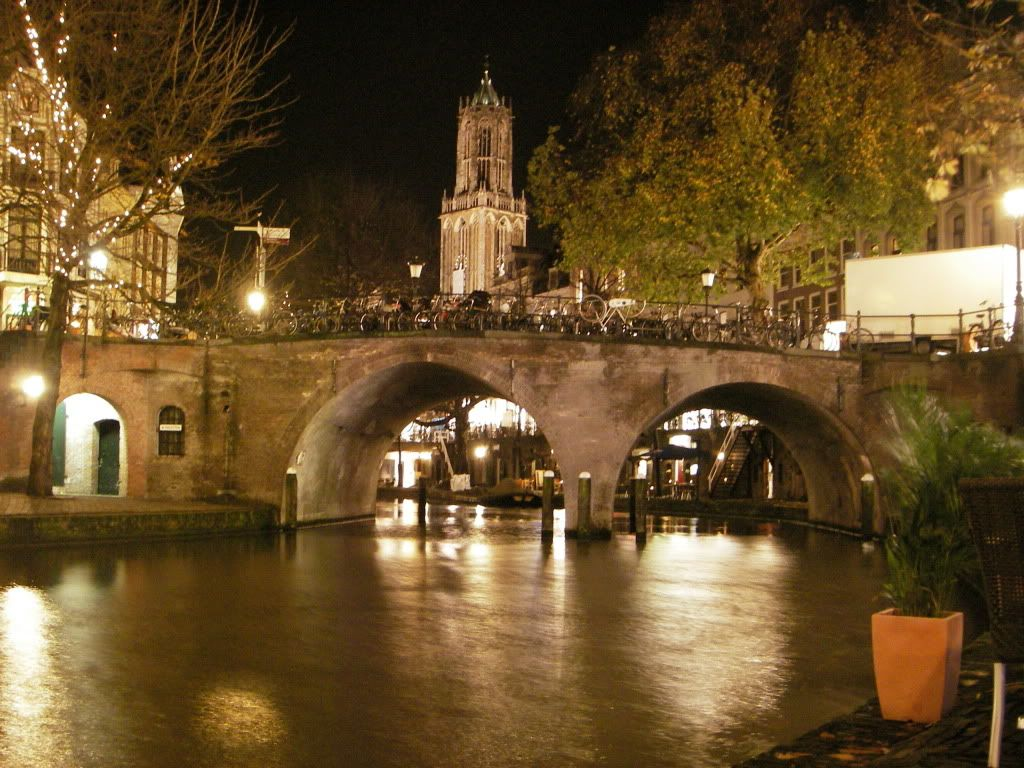 Domtoren Utrecht Nacht