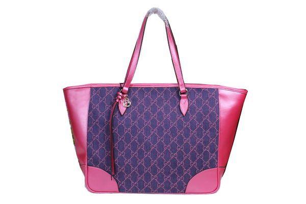 Gucci Bree Original GG Canvas Tote Bag 323671 Rose - $199.00