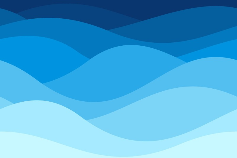 Blue Waves Pattern Summer Lake Wave Water Flow Abstract Vector Seaml By Tartila Thehungryjpeg Com Wave Pattern Blue Waves Wave Illustration