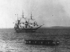 This remarkable photograph is the oldest known photograph of the USS Constitution under sail. It was taken by Army Pvt. Hendrickson in the spring/summer of 1881 as the U.S. Navy's USS Constitution was sailing toward Hampton Roads, VA. ‪#‎PlatformsMatter‬ ‪#‎NavyHistory‬ USS Constitution