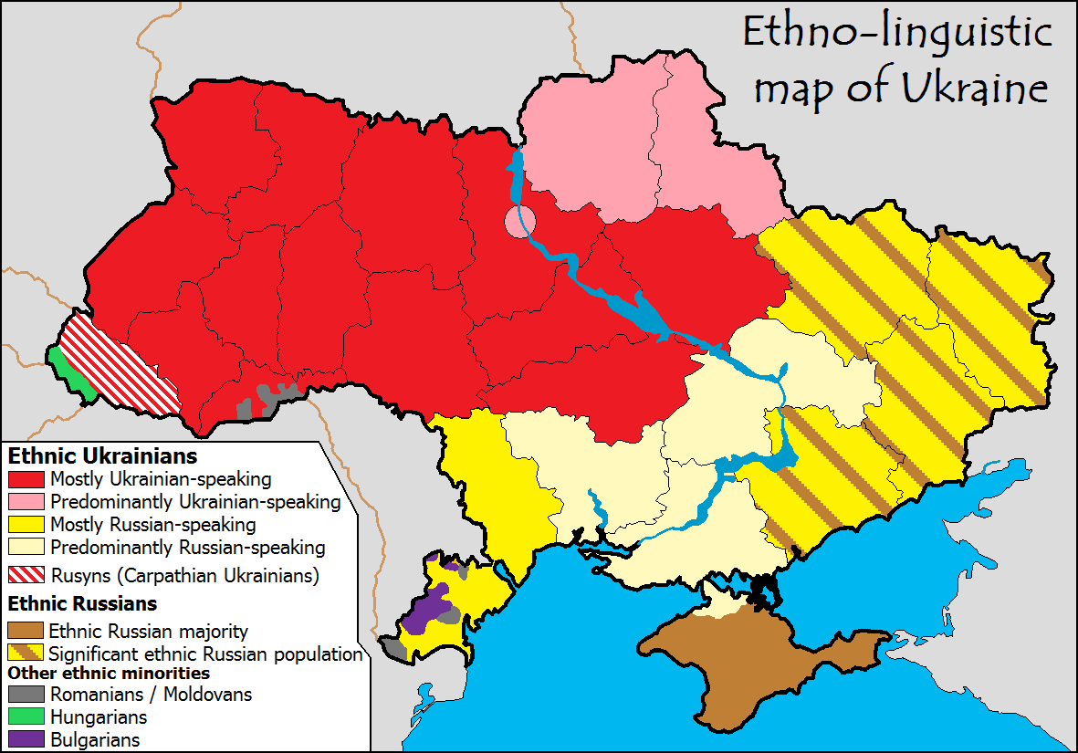 Carte Europe Ukraine.La Carte Pour Comprendre La Situation En Ukraine Maps