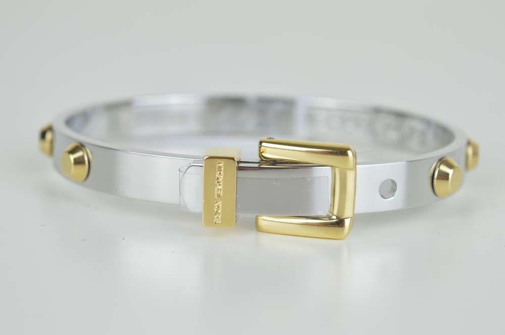 Michael Kors Armband MKJ1892931 Neu Silber gold Armreif