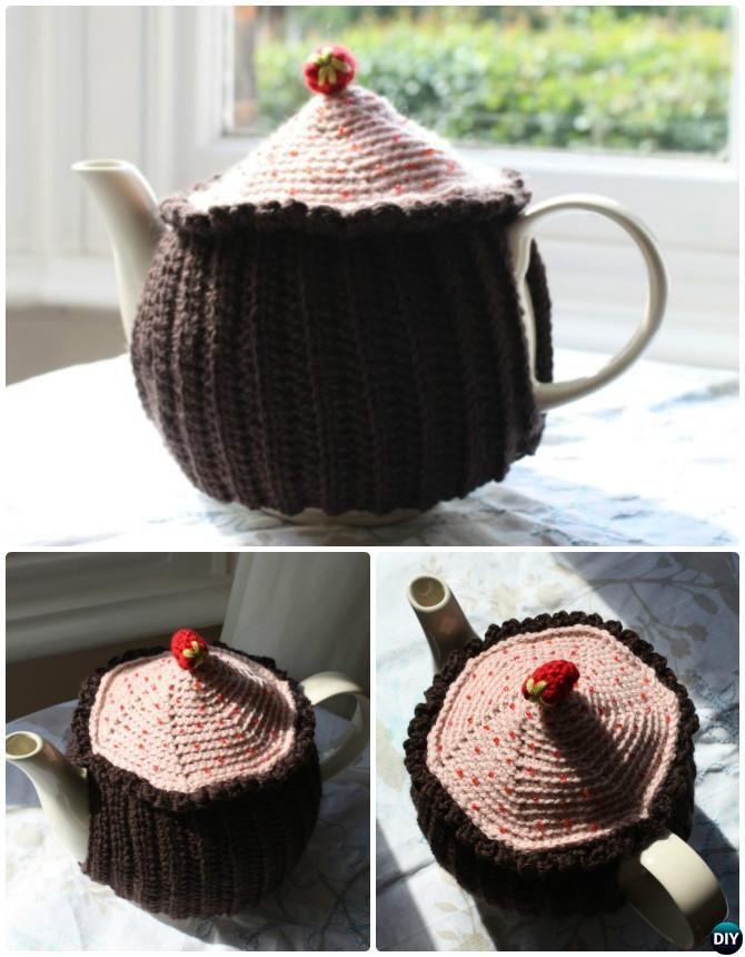 Crochet Cupcake Tea Cozy Free Pattern 20 Crochet Knit Tea Cozy Free