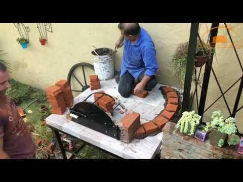 Como Construir Tu Horno De Barro Artesanal Youtube Outdoor