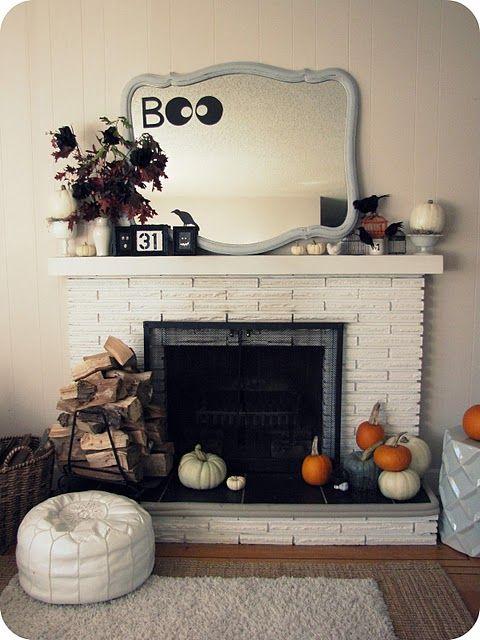 Holy Halloween Mantels Batman Holidays, Halloween ideas and Classy - classy halloween decor