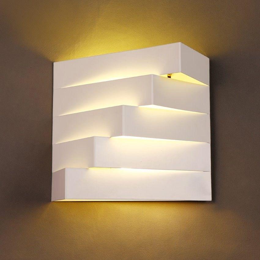 contemporary indoor lighting. Contemporary 2-Light White Metal Geometric Indoor Lighting Wall Light Contemporary Indoor Lighting