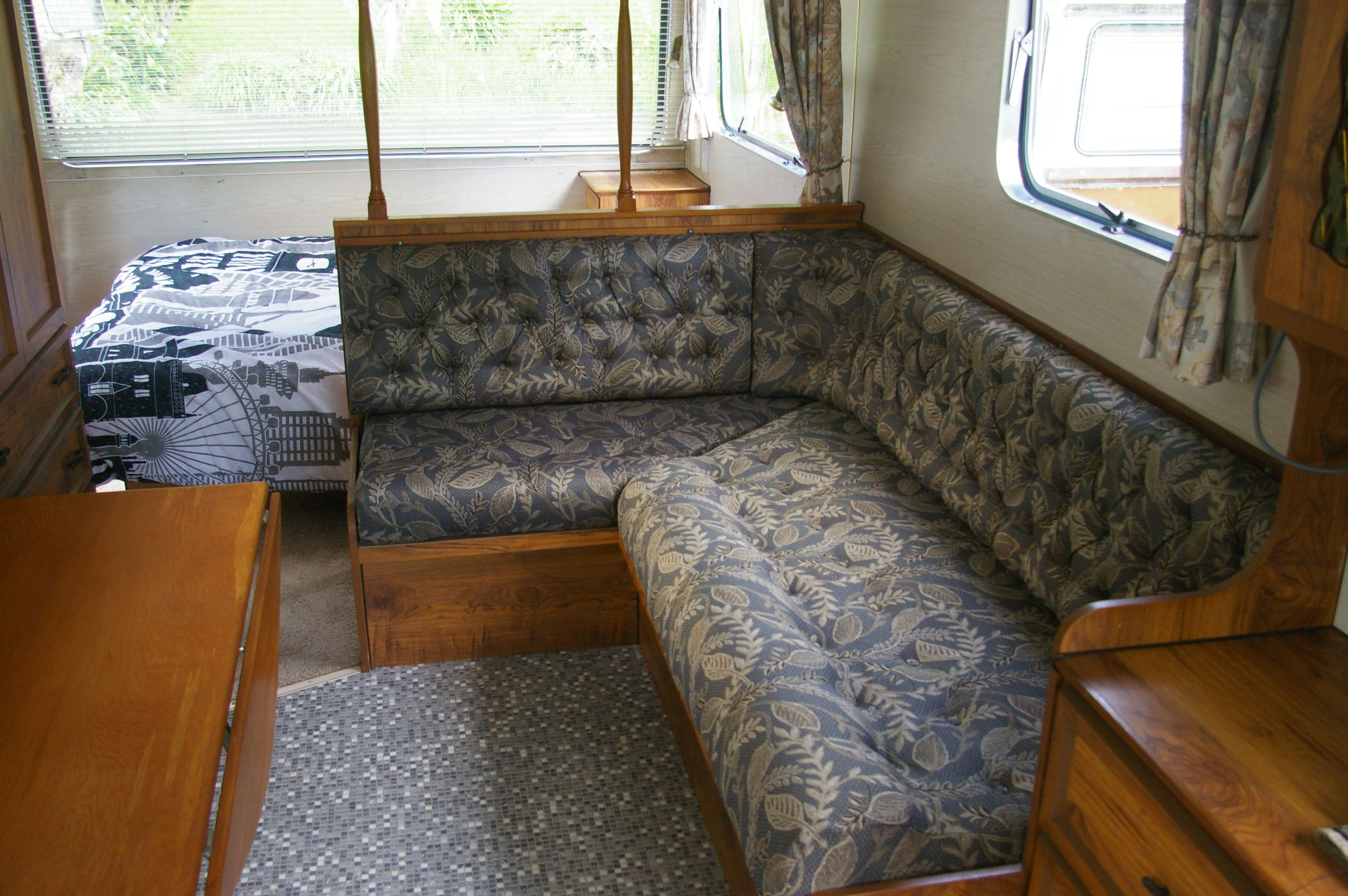 Custom Upholstery By retro Caravans Ltd Retro caravan