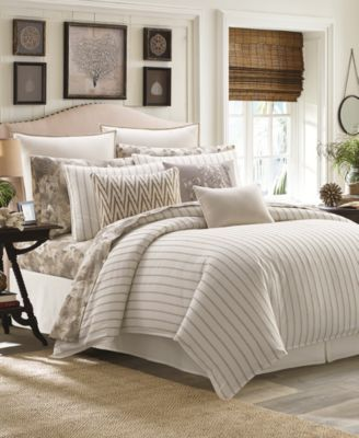 Matrimonio Bed Cover : Sandy coast stripe bedding collection in new house