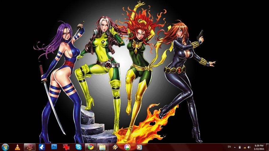Hot marvel girls wallpaper marvel girl picture colection marvels girls marvel girls - Dc characters wallpaper hd ...