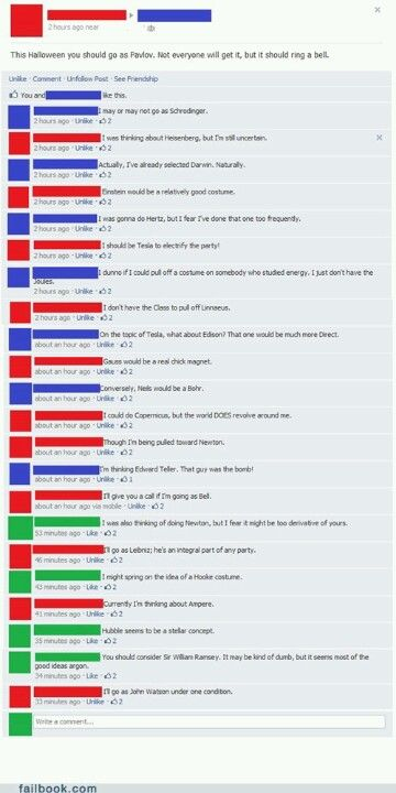 Why aren't my FB friends like this?