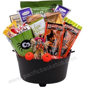 Halloween Gift Baskets Vancouver - BC by Pacific Basket Co.