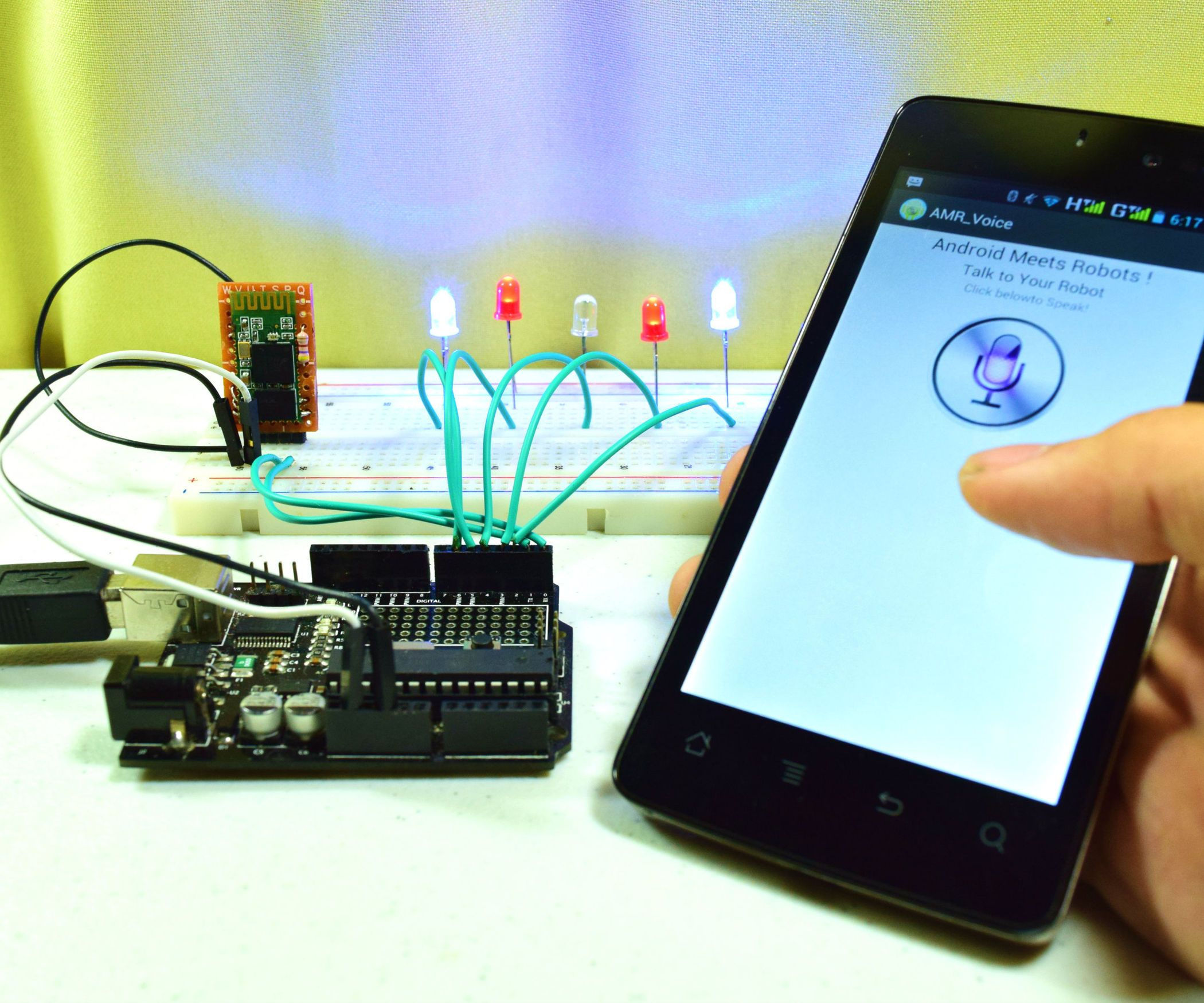 Voice Activated Arduino Bluetooth Android Arduino Bluetooth