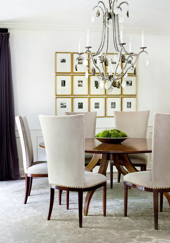 Gallery Wall Frames Dining Room Transitional With Moss Topiary Brilliant Picture Frames For Dining Room Design Decoration