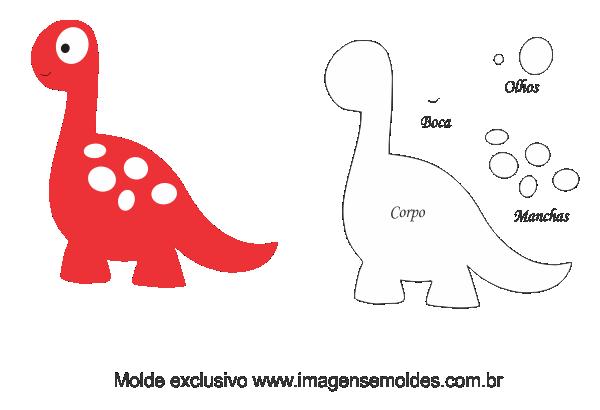 Moldes De Dinossauros Em Feltro Para Imprimir Felt Crafts