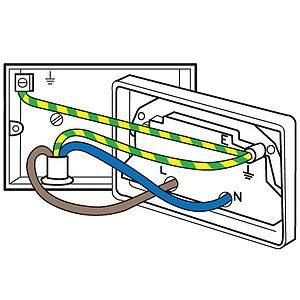 Incredible Wall Socket Wiring Diagram Uk Wiring Diagram B2 Wiring 101 Cranwise Assnl
