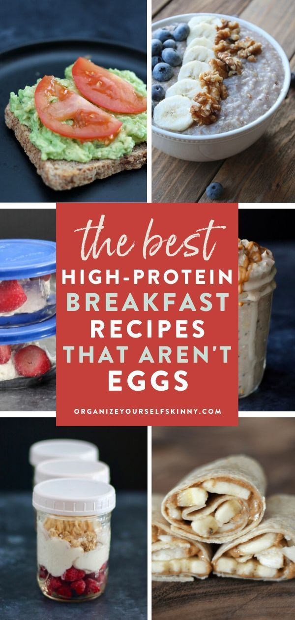 How to Meal Prep A High Protein Breakfast Without Eggs - Organize Yourself Skinny