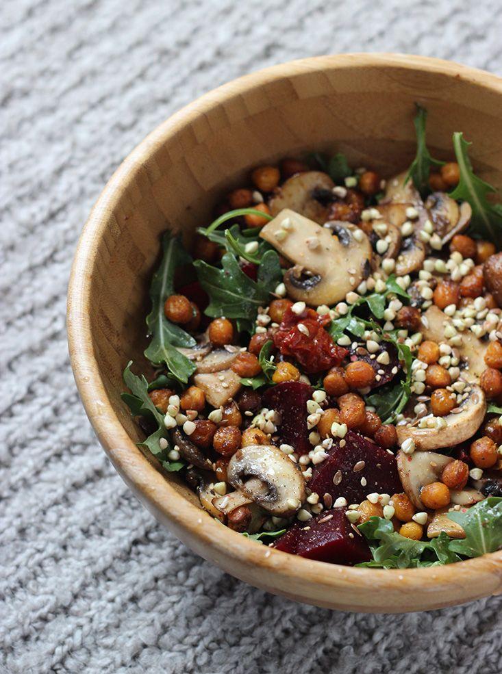 Une Salade-Repas Complète pour l'Hiver - Mango and Salt