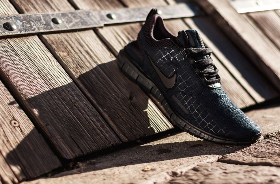 sale retailer e967e be24c Nike Free OG 14 Black Croc
