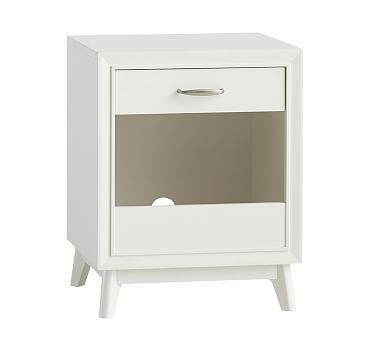 Reese Nightstand Water Based Simply White Baby