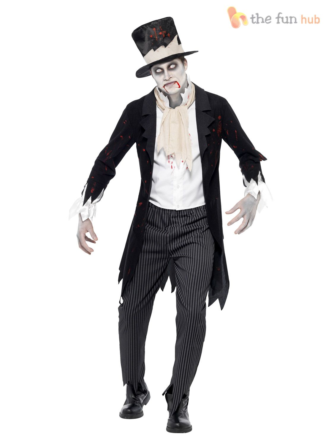 Dead Groom Ghost Gothic Zombie Mens Adult Costume