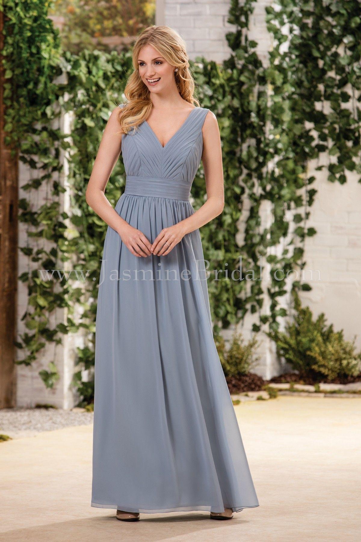 Jasmine bridal bridesmaid dress b2 style b183056 in cornflower jasmine bridal bridesmaid dress b2 style b183056 in cornflower ombrellifo Images