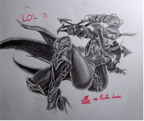 Pin By Dani Firas On League Of Legends Drawing Champions In