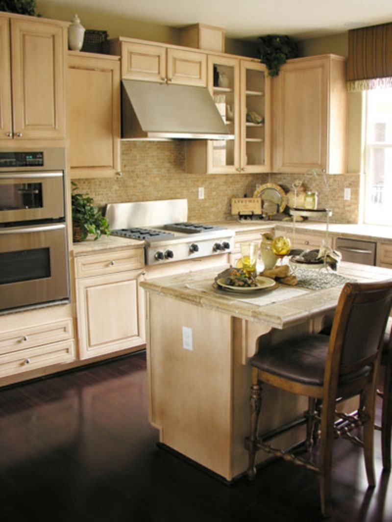 Small kitchen photos small kitchen island modern small for Modern kitchen cabinets for small kitchens