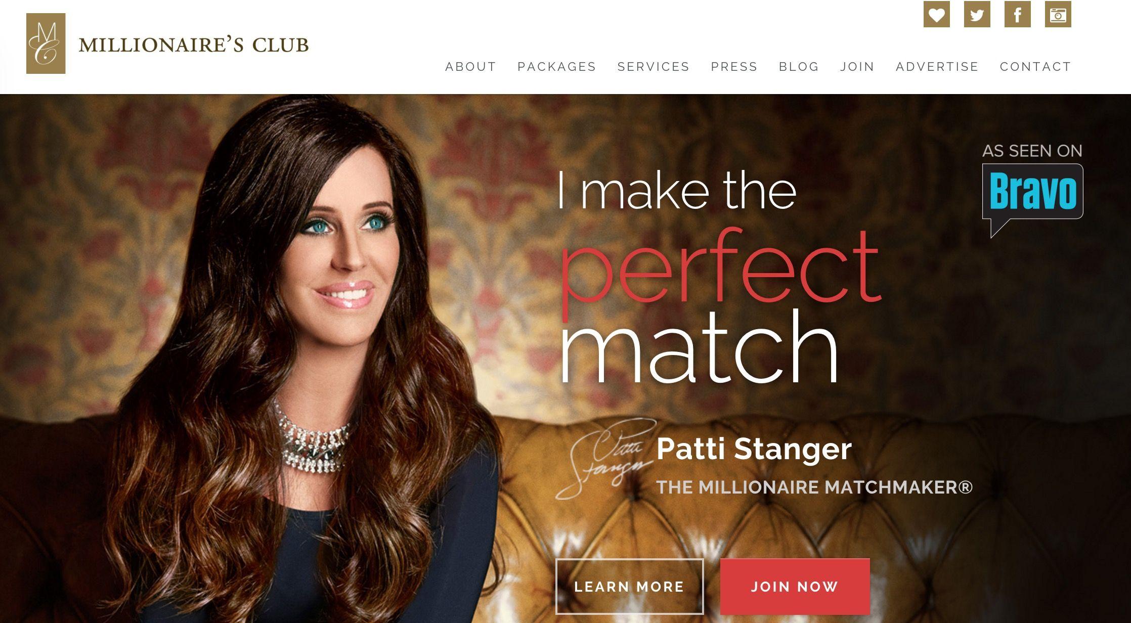 Millionaire matchmaking sites
