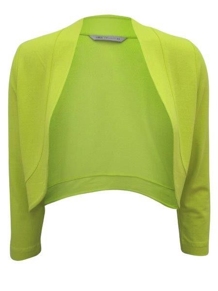 2fdda3cb7 Ladies  Lime Green Open Front Bolero Jacket  instagram  blackfriday   cybermonday  christmasoutfits  christmasdresd  shoppingday  fashion   blackfriday2016 ...
