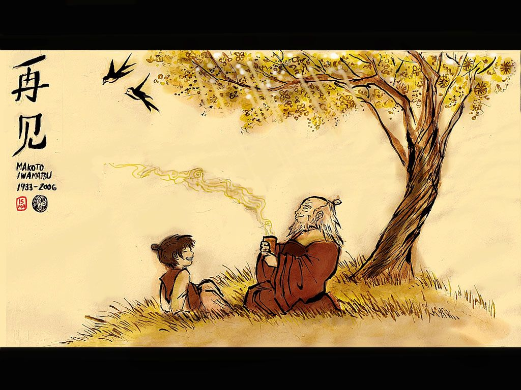 Avatar The Last Airbender Zuko Iroh 1024x768 Wallpaper