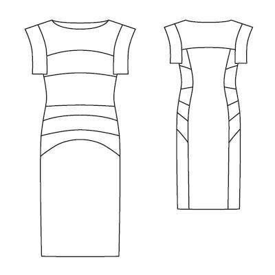 Выкройки платье 2010