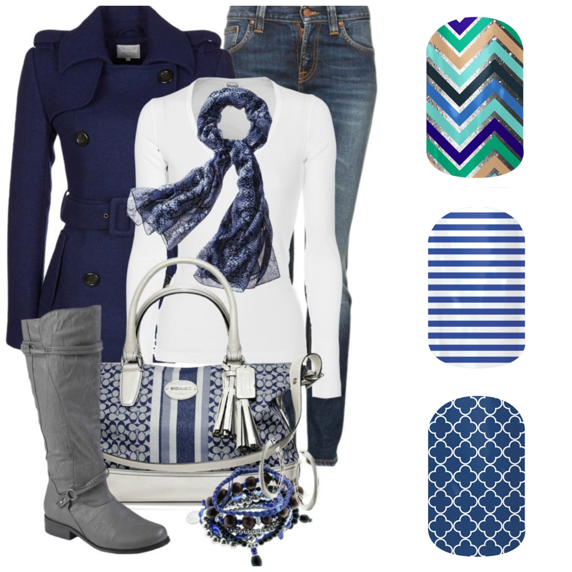 Blue Jamberry wraps to match up with your favorite outfit! #Jamberry ...