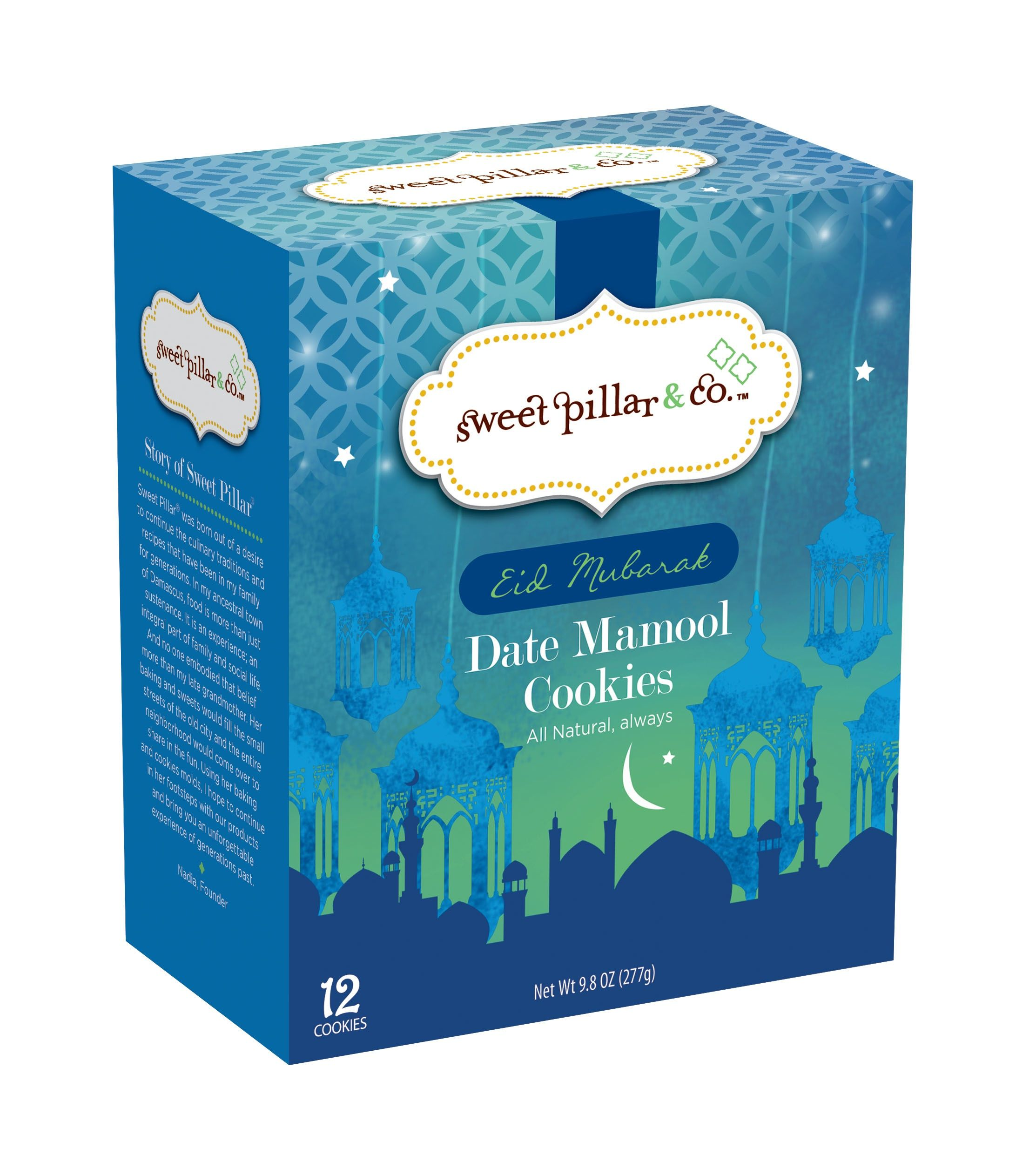 Pin By Sweet Pillar On Holidays Sweet Box Eid Mubarak Food Packaging Design