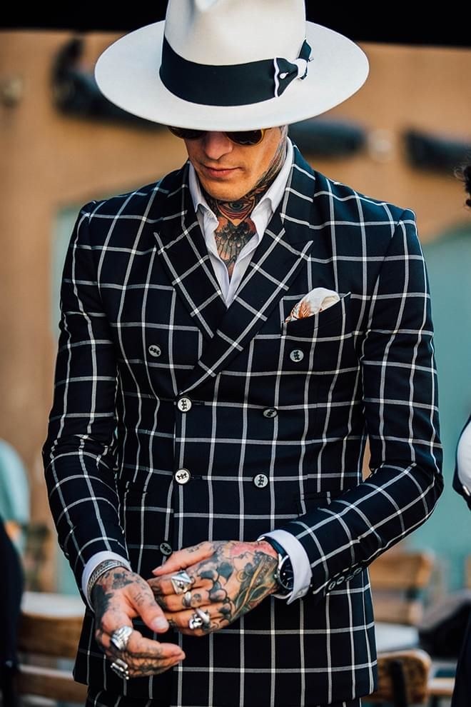 Inspiration: How tattoos have become a statement look at Menswear Week in Milan