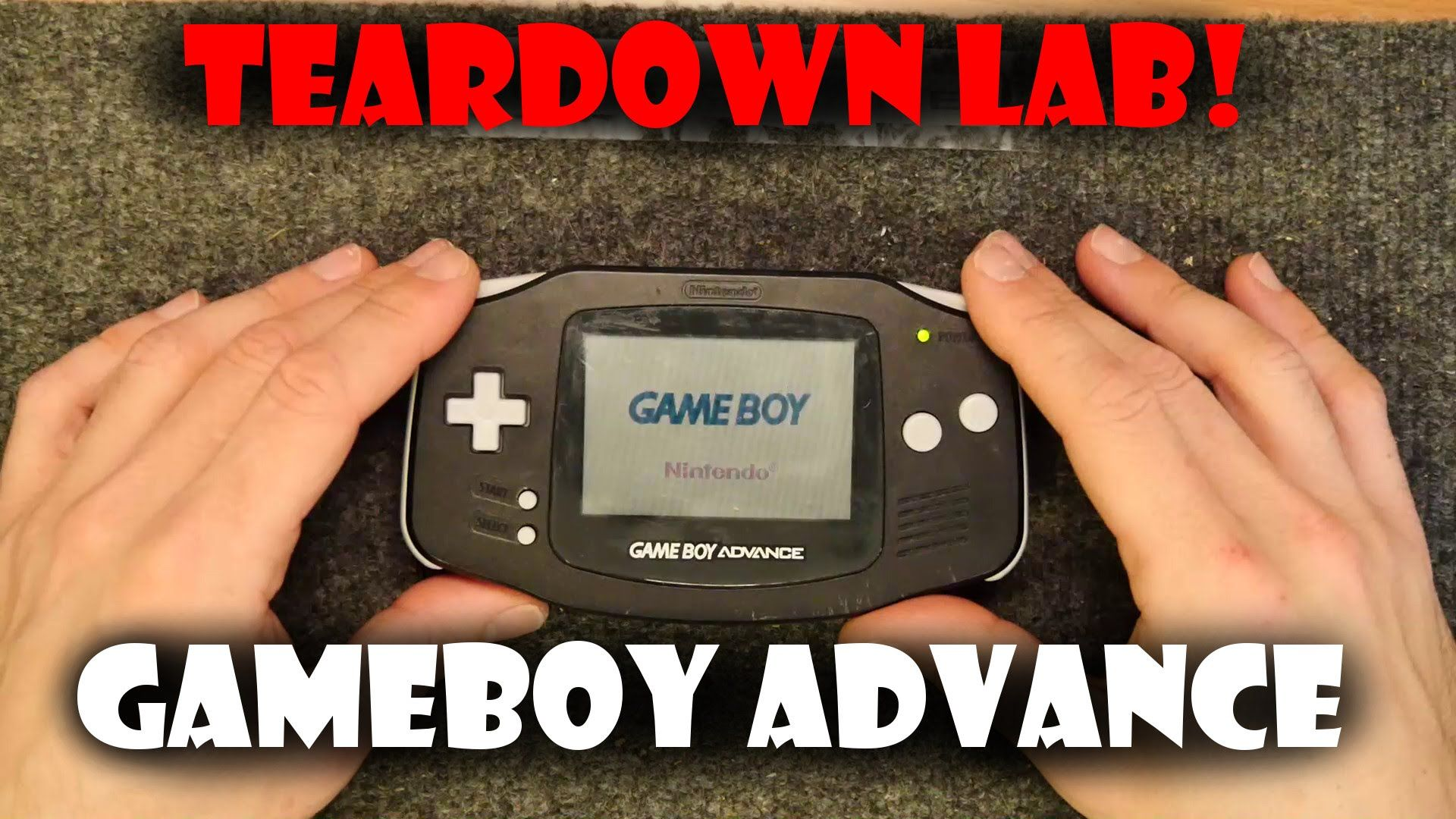 Teardown Lab - Gameboy Advance I have a faulty Gameboy Advance lets have a look inside!  I have put together Teardown Lab because I cannot bear to throw away useless junk but I can give it one last hoorah in usefulness by sharing what is inside and possibly figuring out how it works! Please feel free to ping me with suggestions or if you want to send me something to dismantle (or try to repair!) for the channel!  Please subscribe for more or keep in touch in your preferred way:  Twitter…
