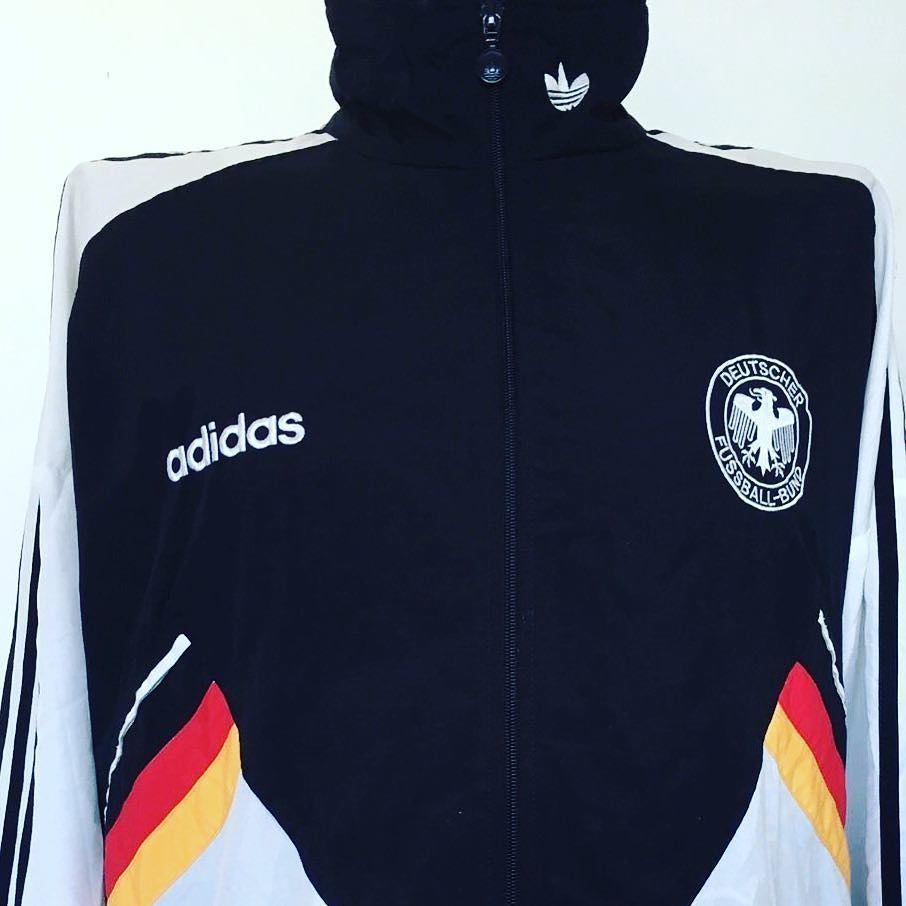 1994 96 Germany Adidas Originals Football Track Top L Seller Cultfootball Link In Bio Germany Adidas Footballsh Football Shirts Foot Ball Shirt Shirts [ 906 x 906 Pixel ]