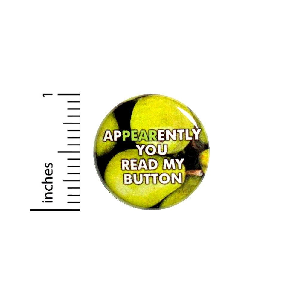 Amazon com: Funny Pun Button Pin Pear Food Puns Silly Cute