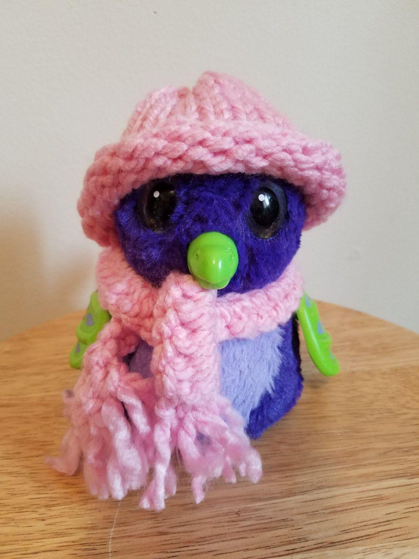 Hatchimal scarf and hat set/ hatchimal clothes/ hatchimal ...