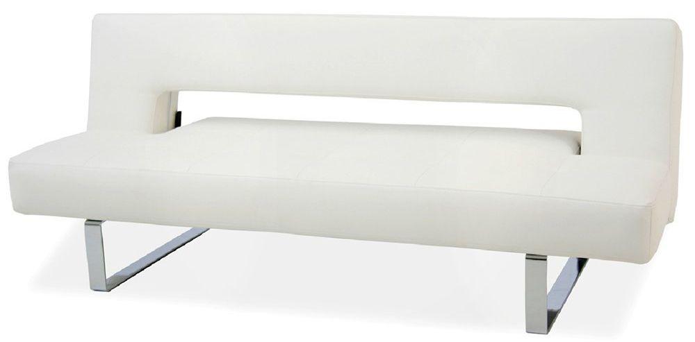 Sleeper Sofa Ido Furniture Miami Modern Bed Pu Leather White