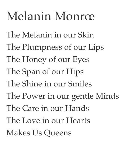 Melanin Quotes Httpswwwyoutubecqueenkeema  Queen Pinterest