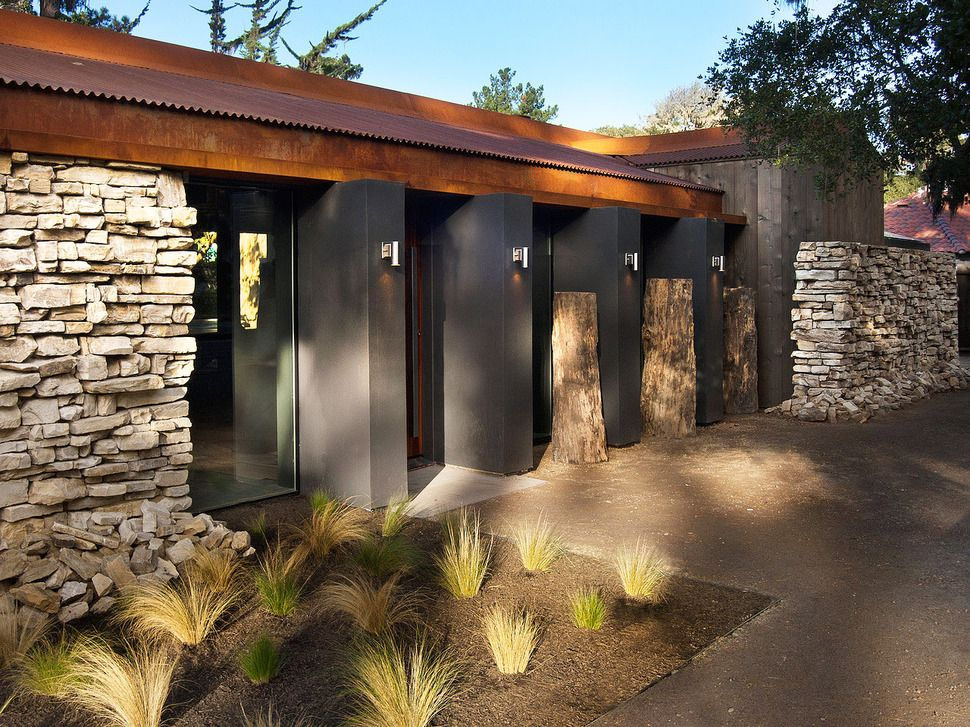Updated Mid Century Home With Private 2 Tier Courtyard Mid Century Modern Exterior Modern Exterior Modern Courtyard