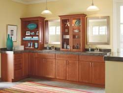 Pin By The Corner Cabinet On Inspire Bathroom Styling Masterbrand Cabinets Schrock Cabinets