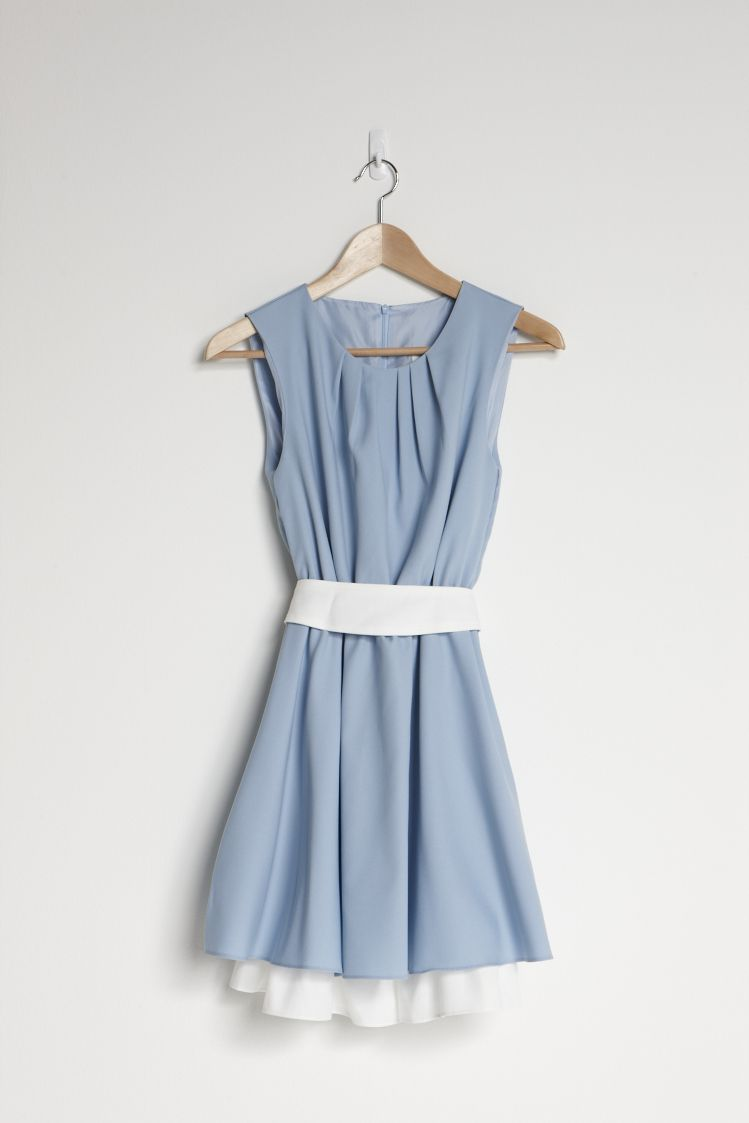 2-Tone Skater Dress