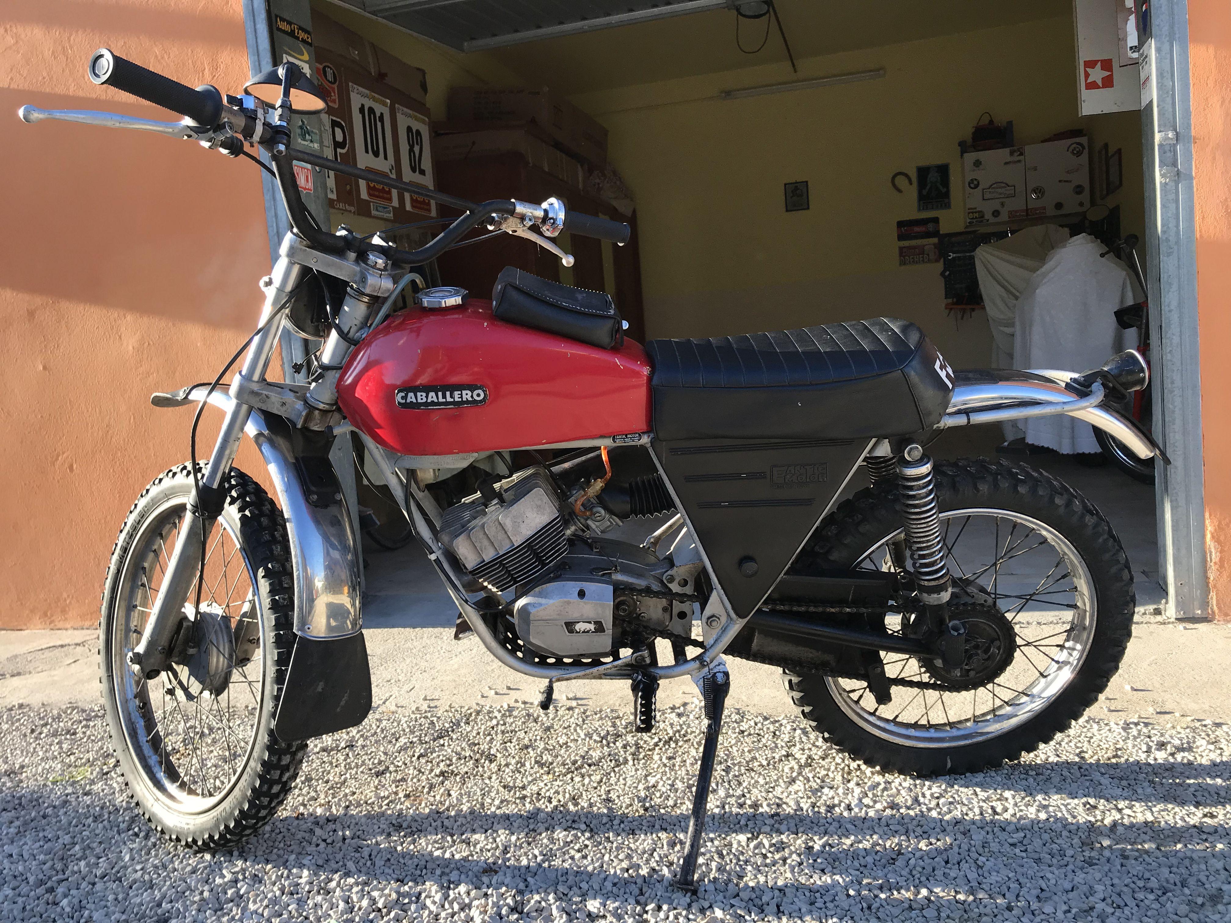 Fantic motor caballero 50 | Moto | Motorcycle, Vehicles