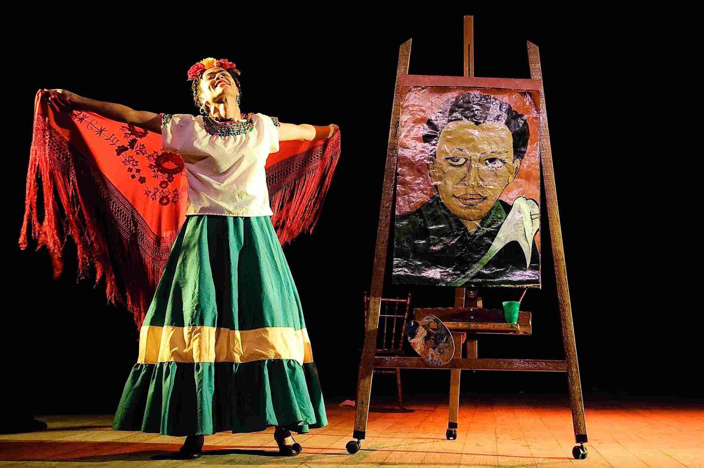 Vida de Frida Kahlo nos palcos de Rio das Ostras - http://eleganteonline.com.br/vida-de-frida-kahlo-nos-palcos-de-rio-das-ostras/