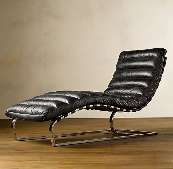 Perfect OVIEDO LEATHER CHAISE
