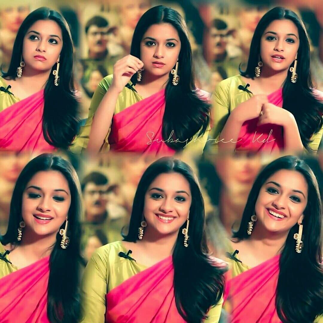 Pin by 😃 😍😍 on keerthi suresh Beautiful indian actress