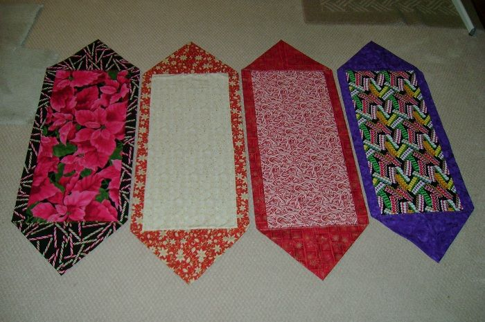 10 Minute Table Runners Table Runner Diy Quilted Table Runners Patterns 10 Minute Table Runner